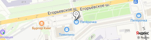 Faberlic на карте Томилино