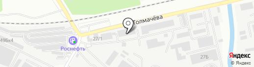 Народная компания на карте Ивантеевки