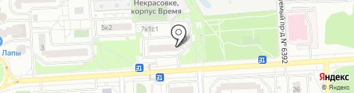 Айданиэль на карте Некрасовки