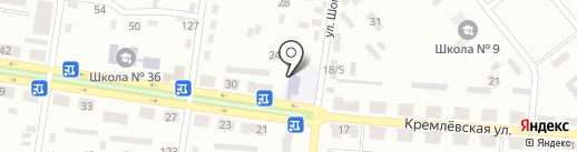 Детский сад №31 на карте Макеевки