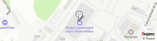 РосТехЗащита на карте Ивантеевки
