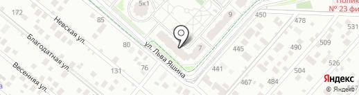 Утенок на карте Москвы