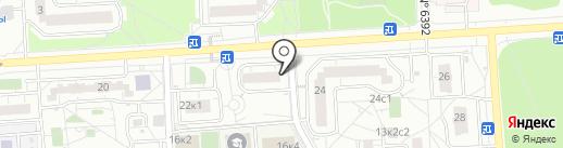 Дистант на карте Некрасовки