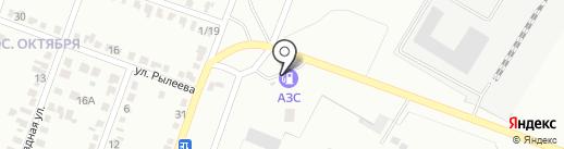 АЗС Extra на карте Макеевки