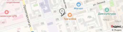 Салон-парикмахерская на карте Киреевска