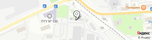 Флит на карте Ивантеевки