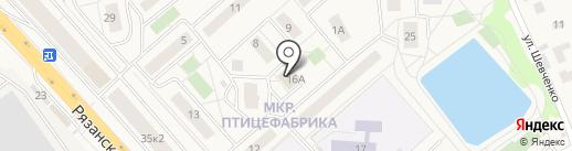 Продовольственный магазин на карте Томилино