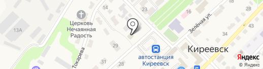 Отделение вневедомственной охраны по Киреевскому району на карте Киреевска
