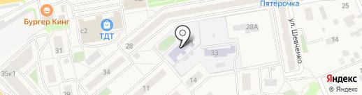Детский сад №48, Росток на карте Томилино
