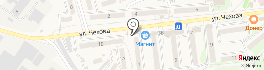 Элегант на карте Киреевска
