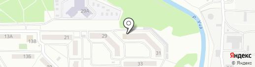 Наш квартал на карте Ивантеевки