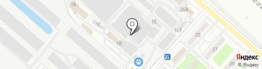 Дунфан на карте Люберец
