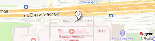 EHRLE RUS на карте Балашихи