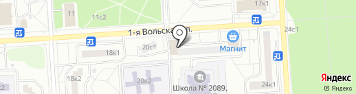 Артикор на карте Некрасовки
