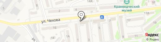 Банкомат, ВТБ 24 на карте Киреевска
