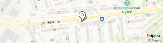 Банкомат, Банк ВТБ 24, ПАО на карте Киреевска