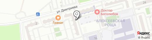 Избёнка на карте Балашихи