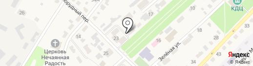 Прима на карте Киреевска