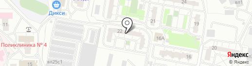 Любимый хвостик на карте Балашихи