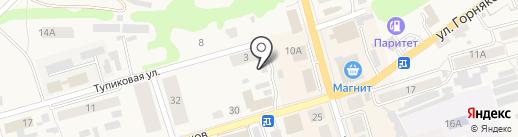 Шиномонтажная мастерская на карте Киреевска