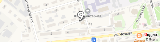 М-займ на карте Киреевска