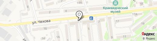 Магазин продуктов на карте Киреевска