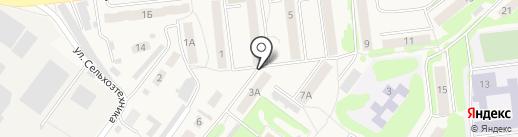 Продуктовый магазин на карте Киреевска