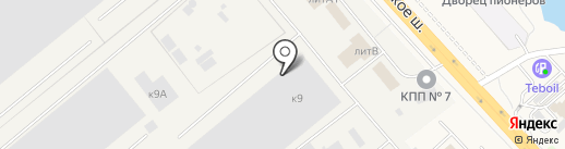 Вертикаль на карте Томилино