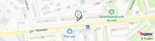 ГУБЕРНСКИЙ КОЛОДЕЗЬ на карте Киреевска