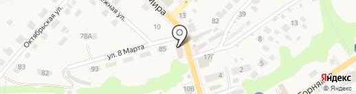Академия фитнеса на карте Киреевска