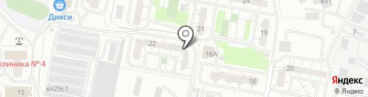 Опытное, 22, ТСЖ на карте Балашихи
