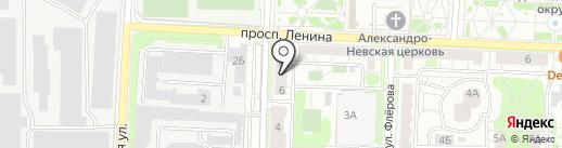 Физиотерапевтическая поликлиника на карте Балашихи
