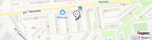 Двери Белоруссии на карте Киреевска