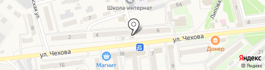 Источник здоровья на карте Киреевска