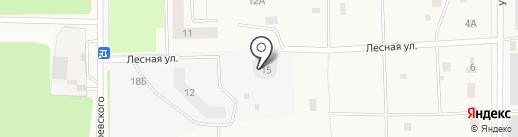 МОСОБЛКАПСТРОЙ-СК на карте Лесного
