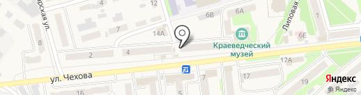 Валентина на карте Киреевска