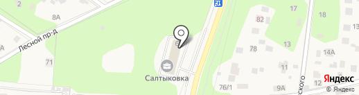 Центр строительного обеспечения-Столица, ЗАО на карте Балашихи
