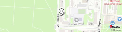 Строй Дворик на карте Балашихи
