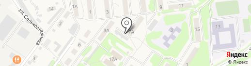 Бланк на карте Киреевска