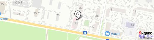 Академия на карте Балашихи