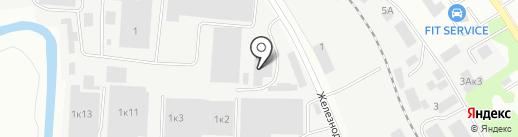 Дока на карте Ивантеевки