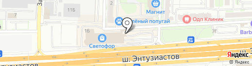 Opera на карте Балашихи