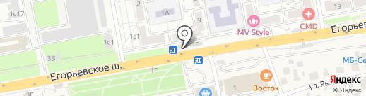 Союзпечать на карте Люберец