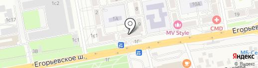 City Style на карте Люберец