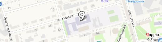 Киреевская школа-интернат для детей-сирот и детей на карте Киреевска