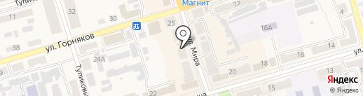Апрель на карте Киреевска