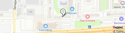 Барус на карте Балашихи