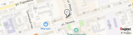 Парижанка на карте Киреевска