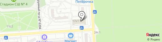Ремонтная мастерская на карте Некрасовки