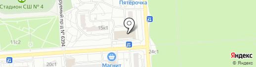 Банкомат, Сбербанк, ПАО на карте Некрасовки